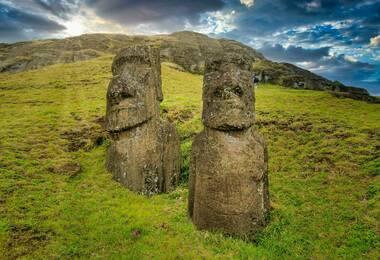 Ile de Paques et Chiloe